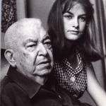 Fernando Ortiz and his daughter, María Fernanda, 1969