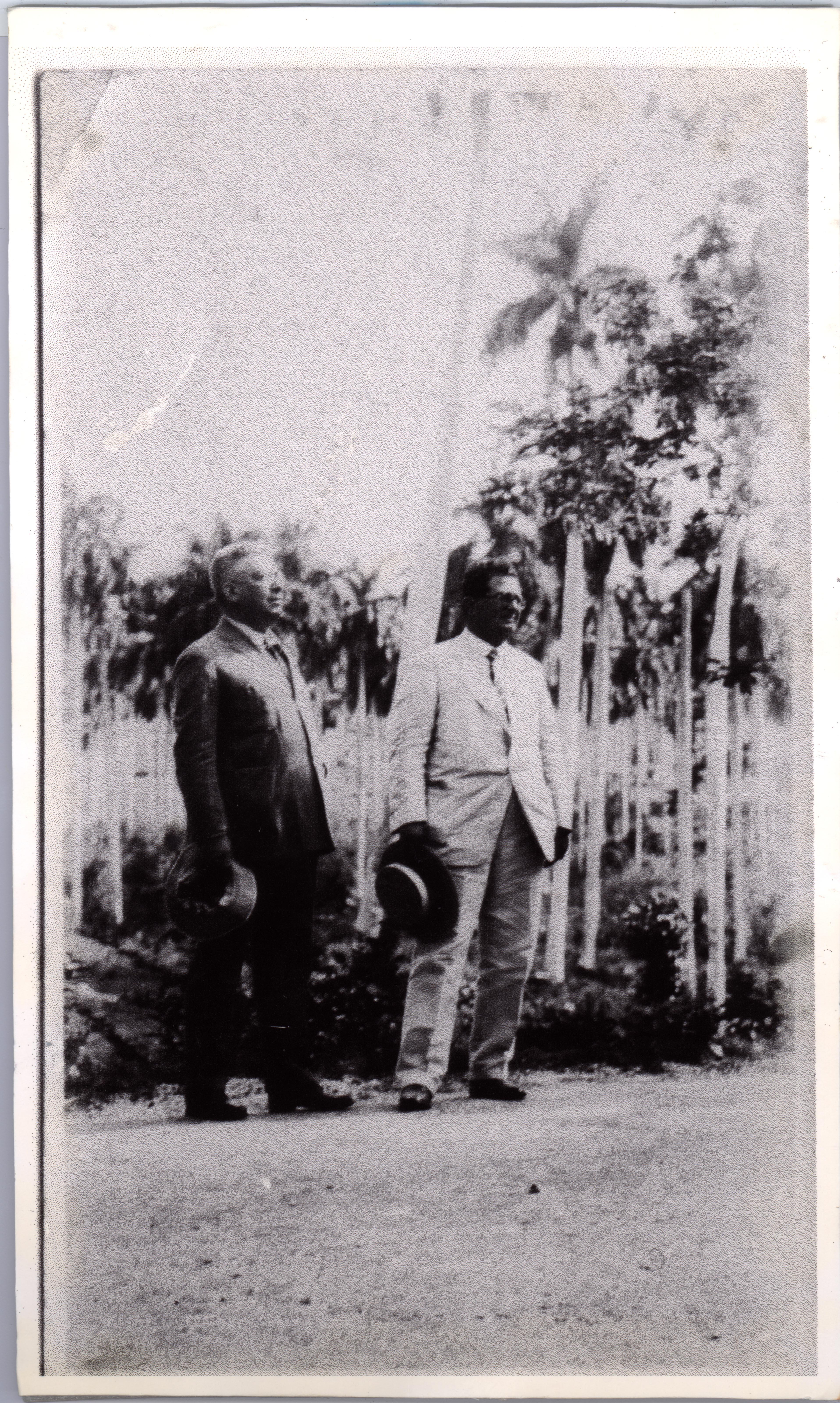 Fernando Ortiz and José María Chacón y Calvo, 1925