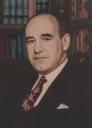 Gustavo Gutierrez y Sanchez (portrait by Valderrama)